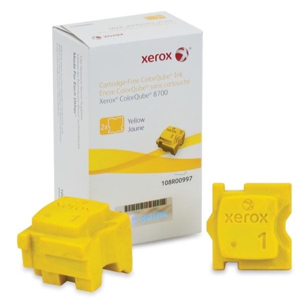 Xerox Festtinte in Color-Stix gelb  108R00997