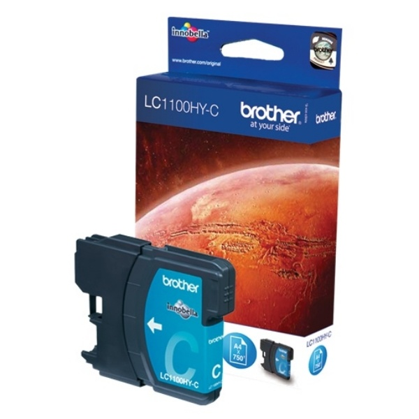Brother Tintenpatrone cyan High-Capacity  LC1100HYC