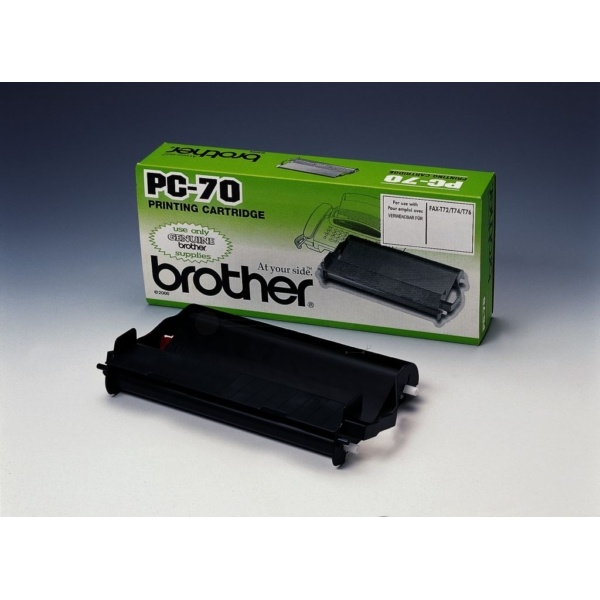 BROTHER Thermo-Transfer-Rolle mit Kassette 27717 PC70