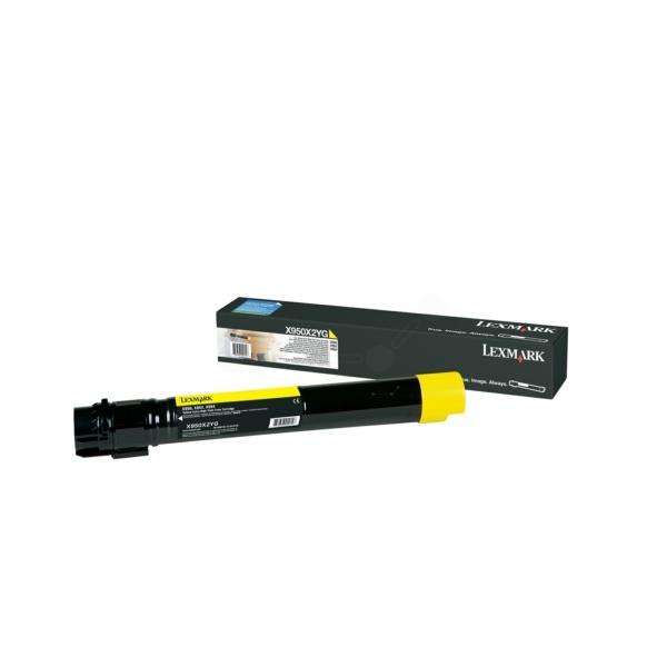 Lexmark Toner gelb  X950X2YG