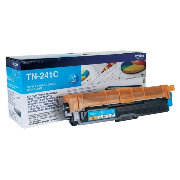 Brother Toner-Kit cyan  TN241C