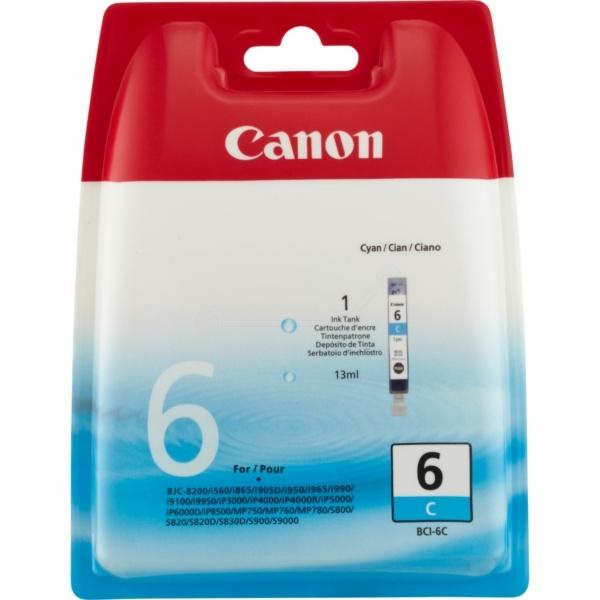 CANON Tintenpatrone cyan BCI-6 C 4706A002