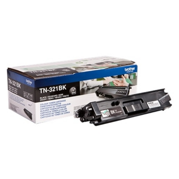 Brother Toner-Kit schwarz  TN321BK
