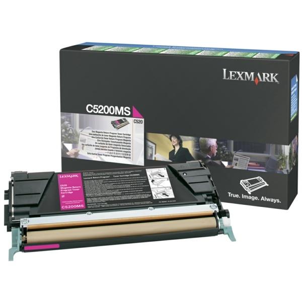 LEXMARK Toner-Kit magenta Prebate  00C5200MS