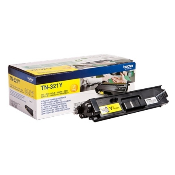 Brother Toner-Kit gelb  TN321Y