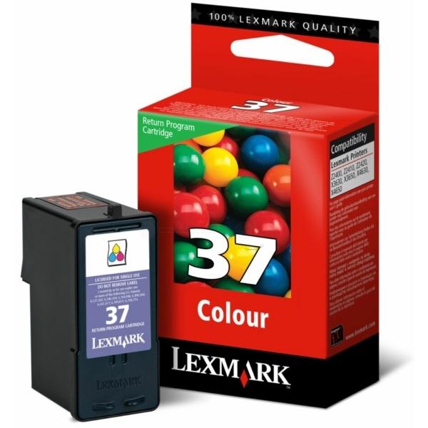 Lexmark Druckkopf color Prebate NO 37 018C2140E