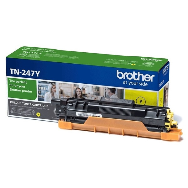 Brother Toner-Kit gelb  TN247Y