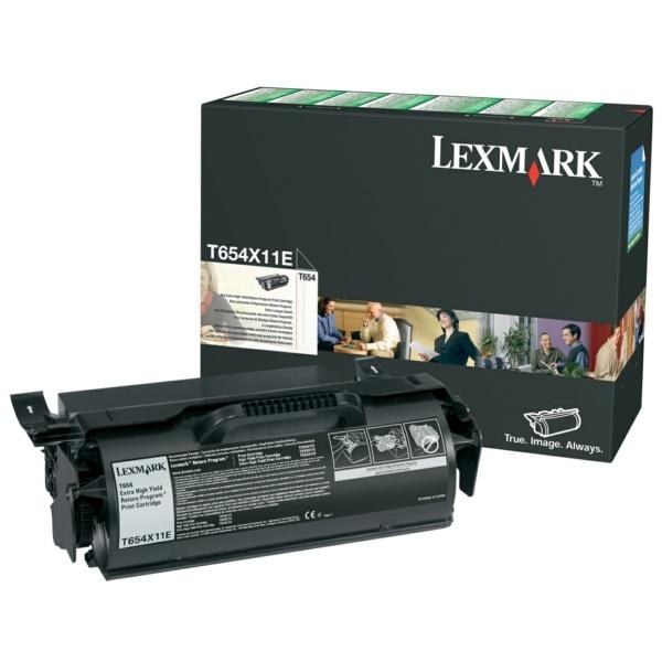 Lexmark Tonerkartusche schwarz Prebate  0T654X11A