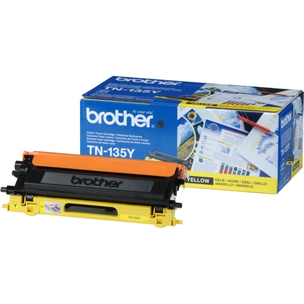 Brother Toner gelb  TN135Y